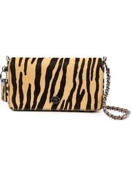 'Print Dinky' animal print flap closure shoulder bag Coach 1941