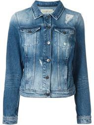 джинсовая куртка с потертой отделкой Calvin Klein Jeans