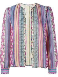 Costa Printed Silk Jacket Mes Demoiselles