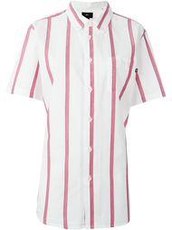 полосатая рубашка  Obey