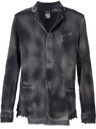 smoked effect button down lightweight jacket Avant Toi