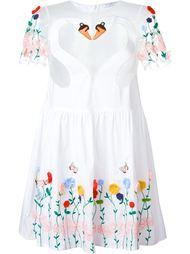платье 'Melissa' с цветочной вышивкой Vivetta