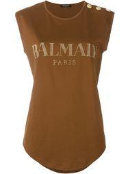 logo T-shirt Balmain
