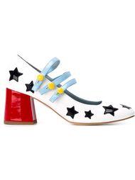 туфли с нашивками  Chiara Ferragni