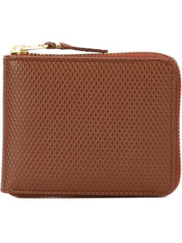 piquet leather zip wallet Comme Des Garçons Wallet