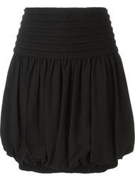 юбка-колокол со сборкой Fendi