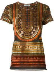 tribal print T-shirt Valentino