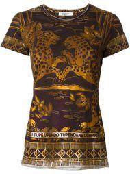 jaguar print T-shirt Valentino