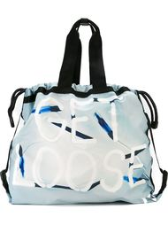 большая сумка на плечо с принтом Y-3