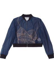tricolour bomber jacket Quetsche