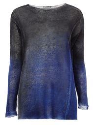 свитер с тонально-градиентным эффектом  Avant Toi