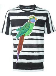 parrot print T-shirt Dolce & Gabbana