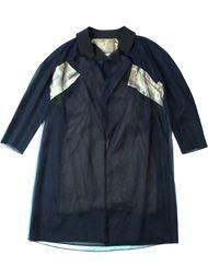 пальто колор-блок  Quetsche