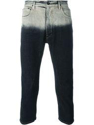 джинсы 'Torrence' с тонально-градиентным эффектом  Rick Owens DRKSHDW