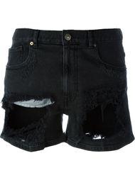 destroyed denim shorts  Gaelle Bonheur