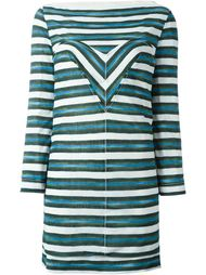 полосатое платье Louis Vuitton Vintage