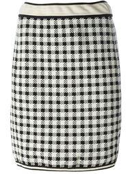 """юбка в клетку """"гингем"""" Alaïa Vintage"""