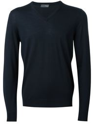 v-neck jumper Drumohr