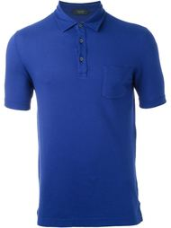 patch pocket polo shirt Zanone