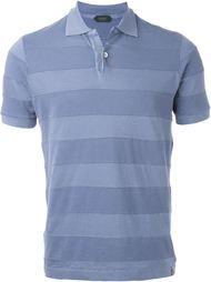striped polo shirt Zanone