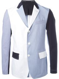 colour block blazer Wooster + Lardini