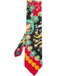 """галстук с принтом """"пейсли"""" Versace Vintage"""