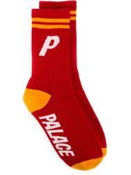 logo print socks Palace