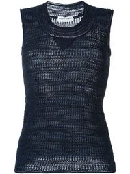 knitted tank top Sonia Rykiel