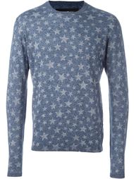 star print knitted jumper Hydrogen