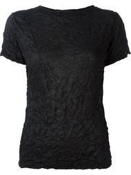футболка с необработанными краями  Issey Miyake Cauliflower