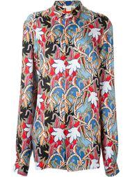 рубашка с цветочным принтом   Antonio Berardi