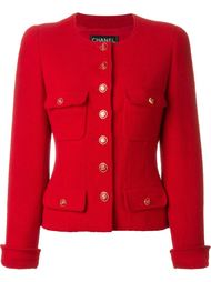 пиджак букле Chanel Vintage