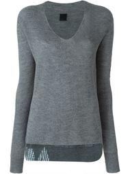 v-neck ribbed sweater Rta