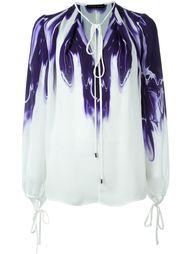 блузка с абстрактным принтом   Plein Sud