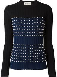 pearl-embellished sweater Emilio Pucci