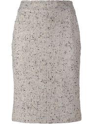 юбка-карандаш букле Chanel Vintage