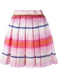 stripe pleated skirt Daizy Shely