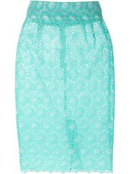 floral lace pencil skirt Daizy Shely