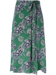 floral print skirt Sea