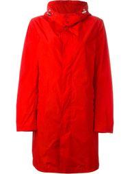 buttoned up raincoat Mackintosh