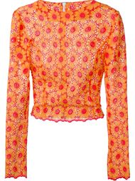 floral lace top Daizy Shely