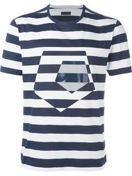 striped T-shirt Z Zegna