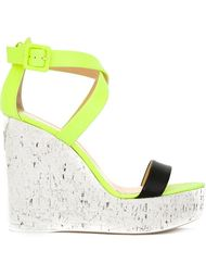 wedge strappy sandals Giuseppe Zanotti Design