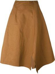 flared cut out skirt Marni