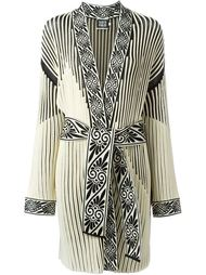 ribbed robe coat Fausto Puglisi
