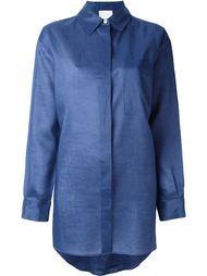 рубашка свободного кроя  DKNY
