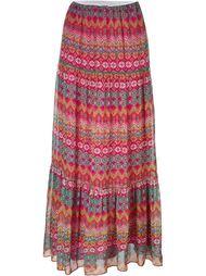 юбка макси с принтом Diane Von Furstenberg
