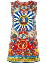 топ с принтом Carretto Siciliano Dolce & Gabbana