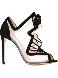 босоножки на шнуровке Nicholas Kirkwood