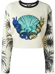 shell print sweatshirt Fausto Puglisi